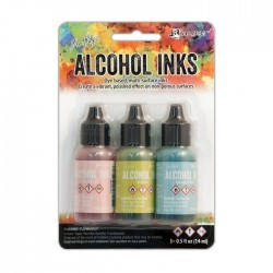 Ranger • Tim Holtz Alcohol Inks Countryside set 3pz