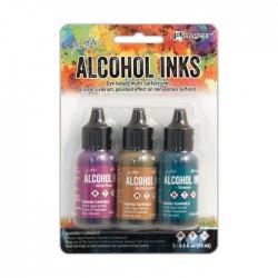Ranger • Tim Holtz Alcohol Inks Nature Walk set 3pz