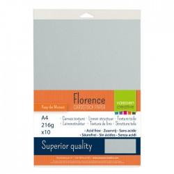 Confezione 10 fogli Mauve Florence texture A4 216gr