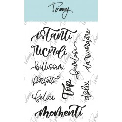 Tommy clear stamps – Momenti