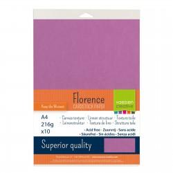 Confezione 10 fogli Hydrangea Florence texture A4 216gr
