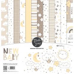Paper pack Modascrap New Baby 15x15cm