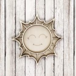 Sole Felice shaker in legno - Krea