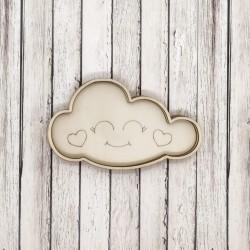 Nuvola Felice shaker in legno - Krea