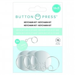 Button press - Kit Portachiavi We R Memory Keepers Keychain kit