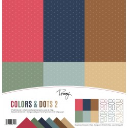 Tommy paper pack – Colors & Dots 2