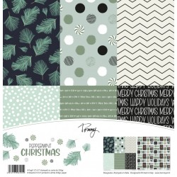Tommy paper pack – Peppermint Christmas