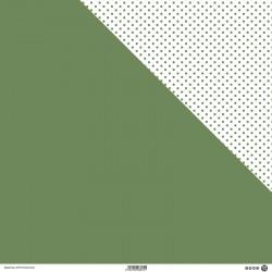 1 Foglio Cartoncino MODASCRAP - PASTEL ACACIA - DOUBLE FACE 30,5x30,5cm