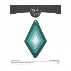 FUSTELLA MODASCRAP - DIAMOND TAGS