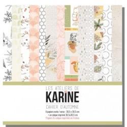 Cahier d'Automne collection - Les Ateliers de Karine