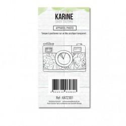 Timbri Clear Stamps Les Atelier de Karine - Cahier d'Automne Appareil photo