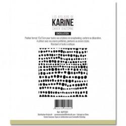 Stencil Les Atelier de Karine - Cahier d'Automne Tout en rondeur