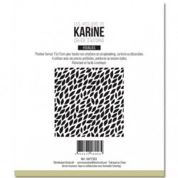 Stencil Les Atelier de Karine - Cahier d'Automne Mini feuilles