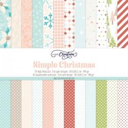 PAPER PAD LA COPPIA CREATIVA - SIMPLE CHRISTMAS