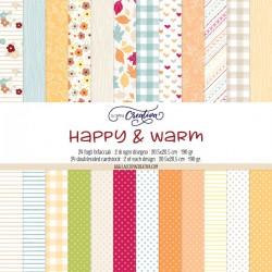 PAPER PAD LA COPPIA CREATIVA - HAPPY & WARM