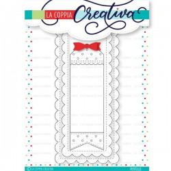 FUSTELLA LA COPPIA CREATIVA - SLIMLINE CARDS 2