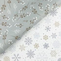 Set Winter Wonderland – 2 fogli di similpelle 30cm x 35cm