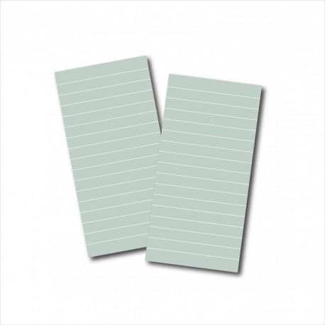 Set 2 Midori 10cm x 21cm – 68 facciate stampate