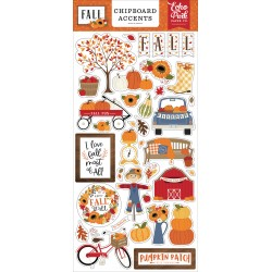Echo Park Fall Chipboard Accents