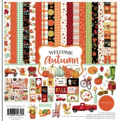 Carta Bella Welcome Autumn 12x12 Inch Collection Kit