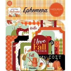 Carta Bella Welcome Autumn Ephemera