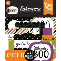 Echo Park Halloween Magic Ephemera