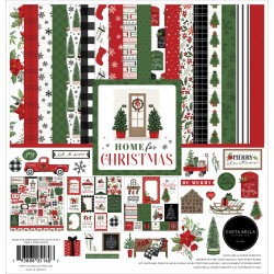 Carta Bella Home For Christmas 12x12 Inch Collection Kit