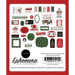 Carta Bella Home for Christmast Ephemera