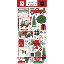 Carta bella Home for Christmas Chipboard accents