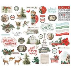 Simple Stories - Country Christmas - Die cut