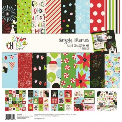 """Simple Stories - Safe Travels Collection Kit 12x12"""""""