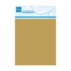 Marianne - Cartoncino effetto metallico GOLD A5 x 5 fogli